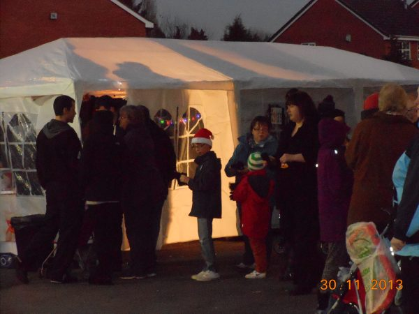 Christmas 2013 in Tile Cross