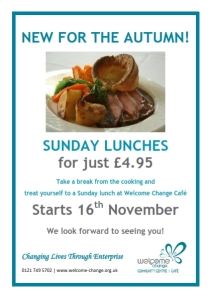 Sunday lunch for only £4.95