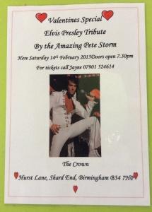 Elvis comes to Shard End.