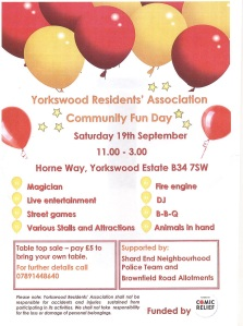 Fun for all at Yorkswood Community Fun Day